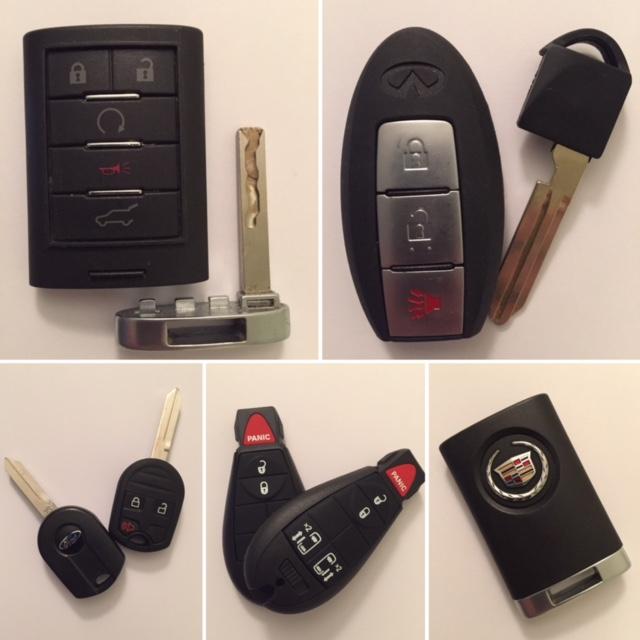 Key FOB Remote Key