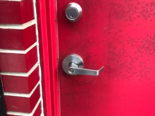 Red Door Lock