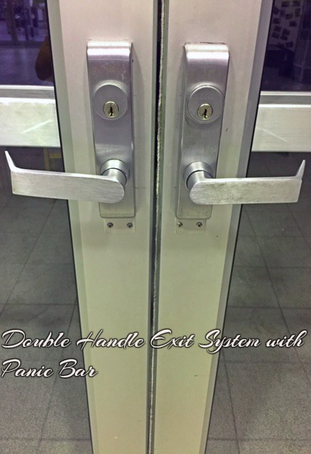 Double Handle Exit System/Panic Bar